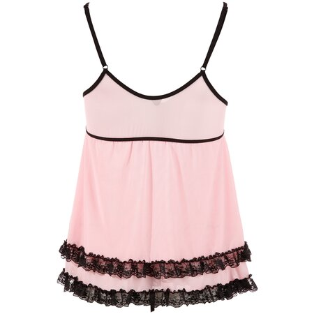 Babydoll incl.String von Cottelli Collection in S-XXL